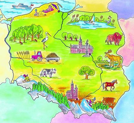 Ogolnopolski Konkurs Plastyczno Przyrodniczy Mapa Polski