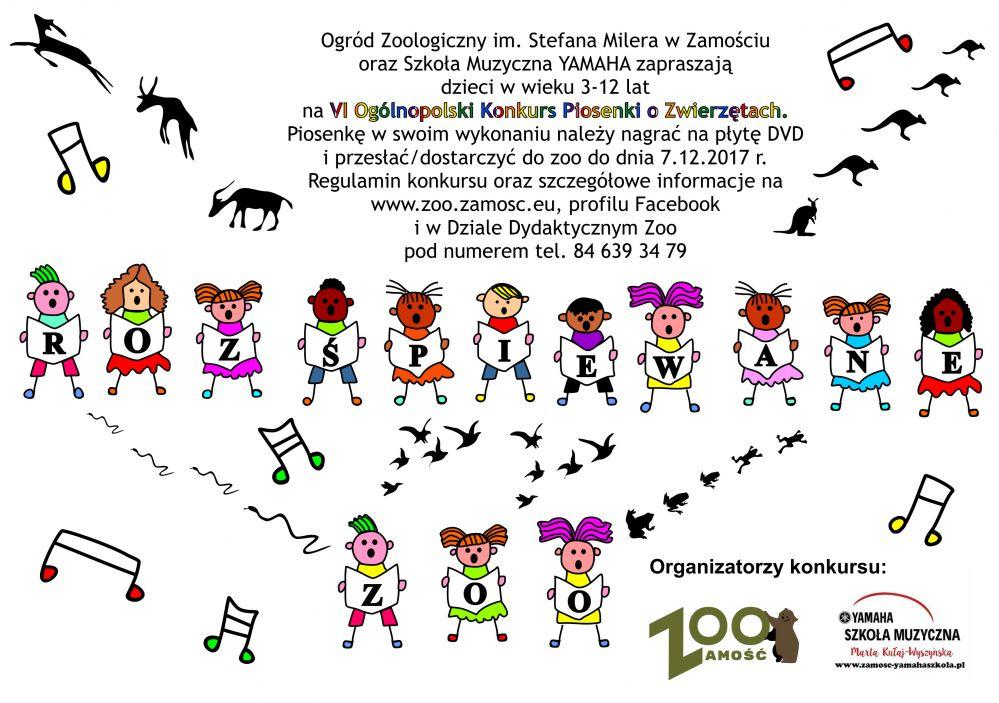 rozspiewane zoo