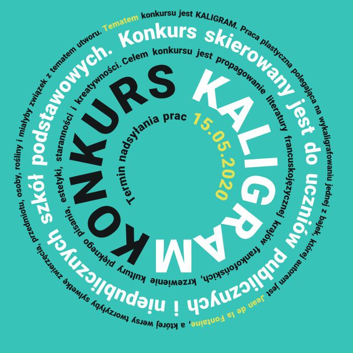 """Ogólnopolski konkurs """"KALIGRAM – BAJKI LA FONTAINE'A"""" IX EDYCJA ..."""